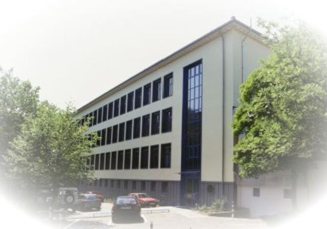 The building of the Institute of Building Materials Research in Aachen