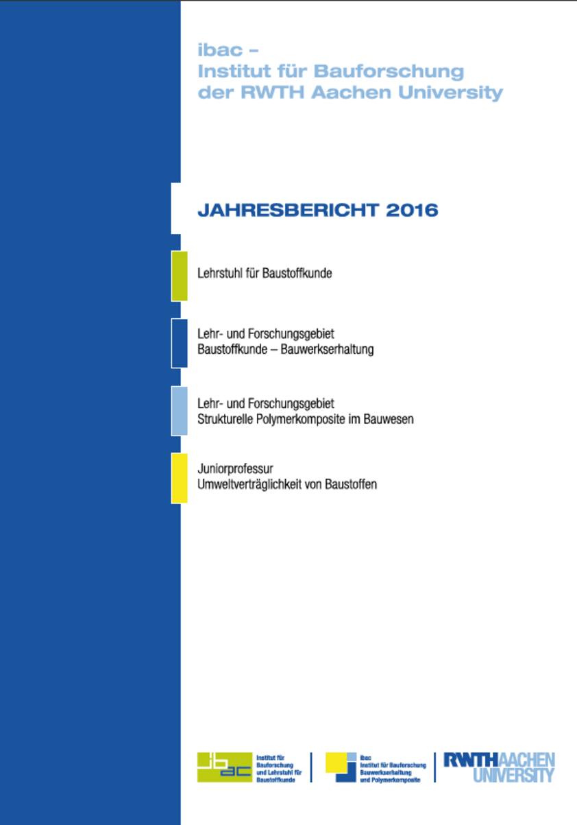 Cover of the 2015 annual report