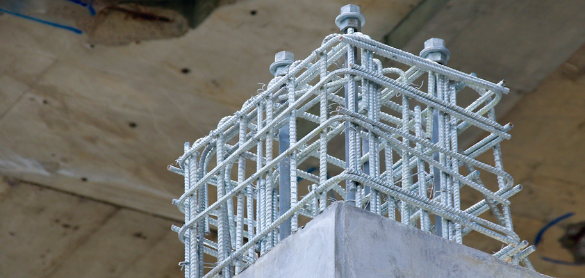Hot-dip galvanized steel reinforcement - a CBI project with ibac involvement